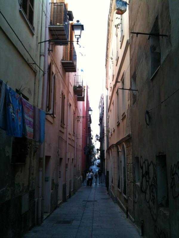 """Quartiere """"La Marina"""" di Cagliari"""
